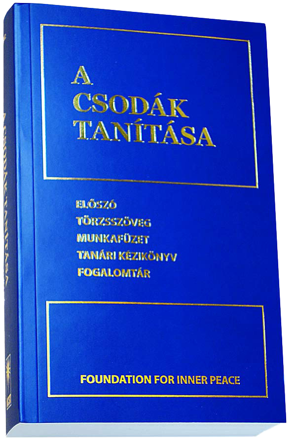 photo - book cover:A CSODÁK TANÍTÁSA - Hungarian Edition (Softcover)
