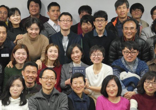 Group of Korean Students with Junghee