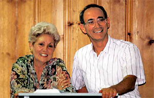 Gloria and Kenneth Wapnick
