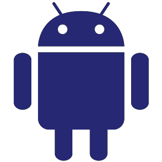 graphic: Android logo, transparent background