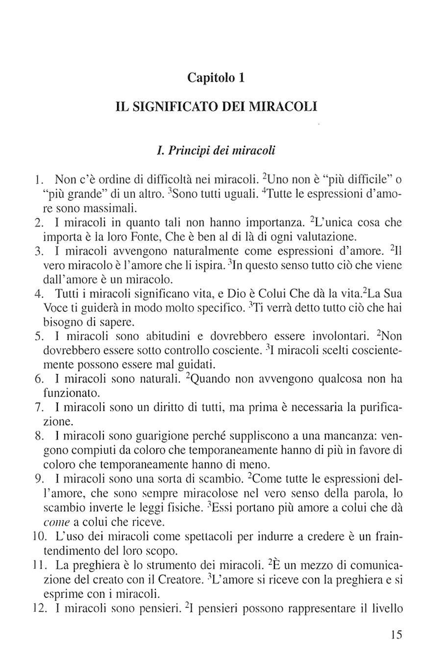 Translator Italian: Sample Page • Foundation For Inner Peace