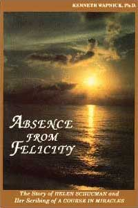 photo - book cover: Absence from Felicity