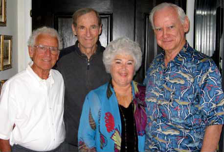 From Left: Joe Jesseph, Bob Skutch, Judith Whitson, William Whitson