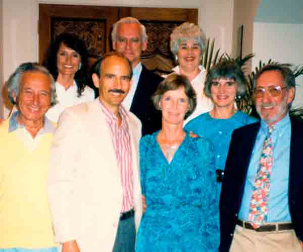 photo - group: 1989-Friends of Bill Thetford-Tiburon, CA