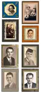 "photo - multiple/montage: William ""Bill"" Thetford's Early Years Collage"