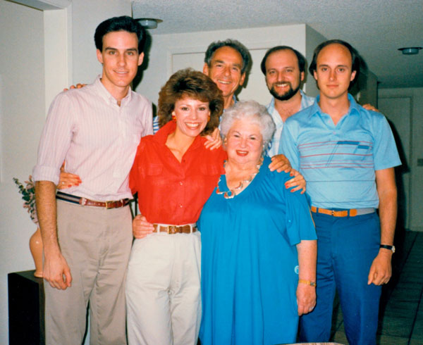 photo - group: Darin and Beverly Hutchinson, Bill and Bobbie Rothstein, Richard Hutchinson and Robert Perry