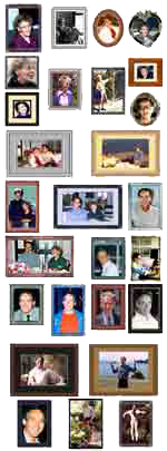"photo - multiple/montage: Helen Schucman and William ""Bill"" Thetford 1976-1985"