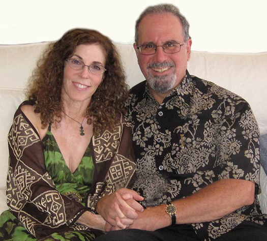 Foundation for Inner Peace co-Presidents: Tamara Morgan and Dr. Robert Rosenthal