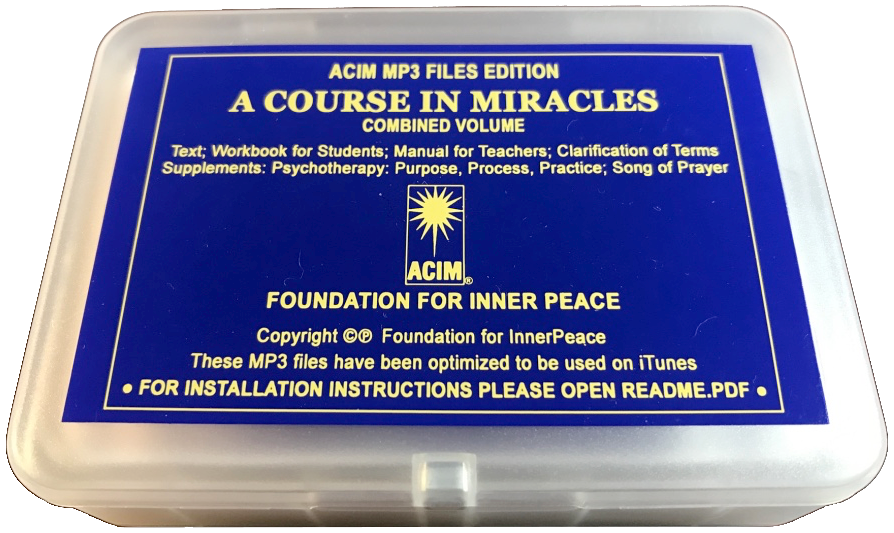 ACIM USB MP3 Audiobooks • Foundation for Inner Peace