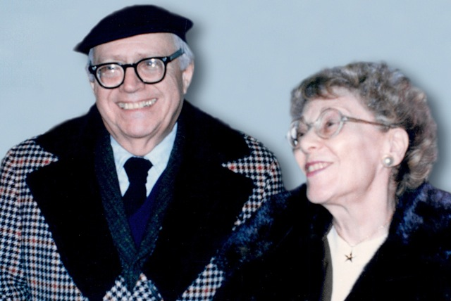 photo: Louis and Helen Schucman - 1975