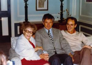 photo: Helen Schucman, Gerald Jampolsky, William Thetford sitting