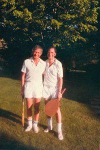photo: Dr. Jerry Jampolsky and Robert Skutch