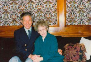 Dr. Jerry Jampolsky and Helen Schucman
