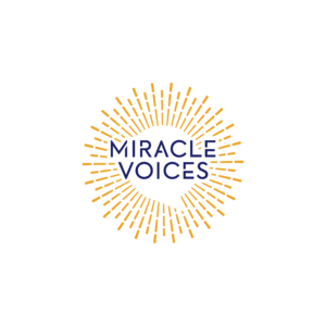 Miracle Voices sun star podcast logo